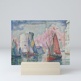 Entrance to the Port of La Rochelle Mini Art Print