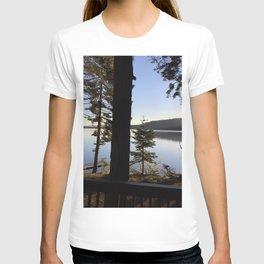 Lake Tahoe cabin view T-shirt