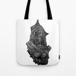 Selenite Lighthouse Tote Bag