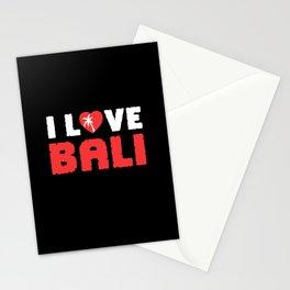 Bali I Love Bali Indonesia Stationery Cards