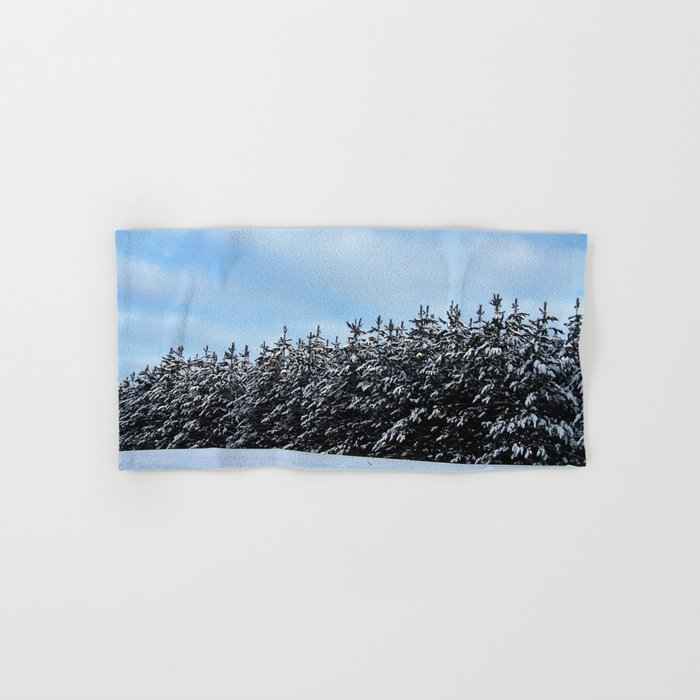 Christmas Tree Forest Hand & Bath Towel