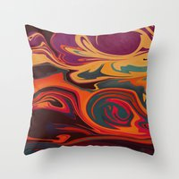 dc Throw Pillows featuring DC by Shelly Bremmer