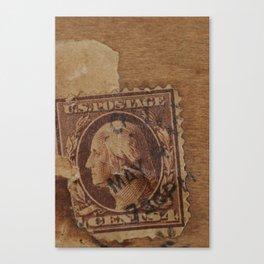 Postage Canvas Print