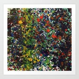 Paint Sneeze 2 Art Print