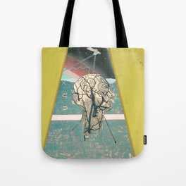 collision course Tote Bag
