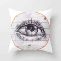dave matthews Throw Pillows featuring dave by SuperPills