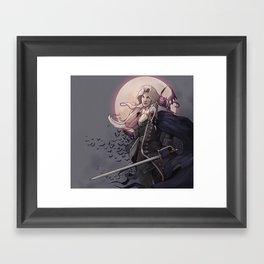 Alucard Framed Art Print