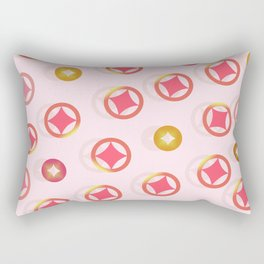 Lucky coins HKc Rectangular Pillow