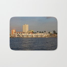Shoreline in Fort Myers I Bath Mat
