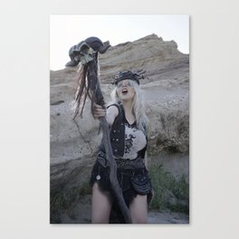 Witchdoctor Warzone Canvas Print