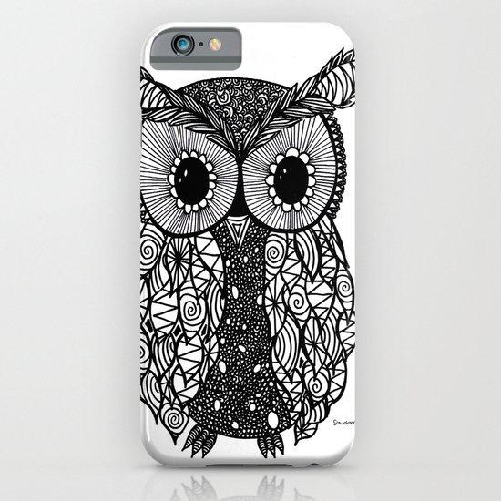 crazy owl iPhone & iPod Case