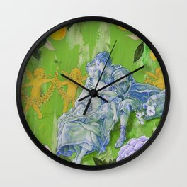 An Agreeable Lesson Wall Clock