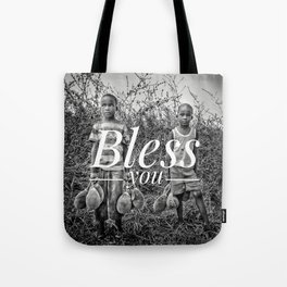 Motus Operandi Collection: Bless you Tote Bag