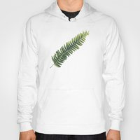 fern Hoodies featuring Fern by Pioforsky