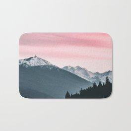 Pink Skies Bath Mat