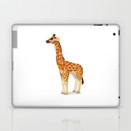 Cute giraffe. Vector graphic character Laptop & iPad Skin