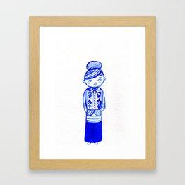 Doll I Framed Art Print