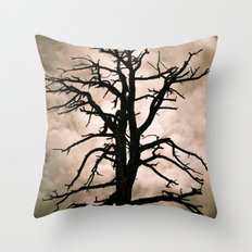 The Coming Storm Throw Pillow