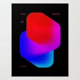 BROCK_SMALL Art Print