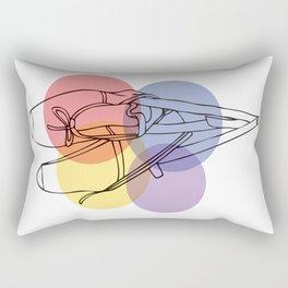 Ballet Slippers Rectangular Pillow