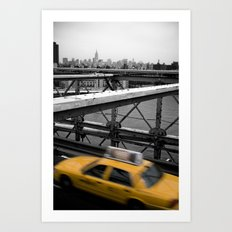 Brooklyn Bridge #2 Art Print