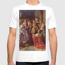 Frans Francken the Younger - Presentation de la sainte Tunique a Charles Quint T-shirt