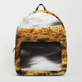 Exploring Sagebrush Field And Sky Backpack