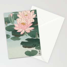 Lotus Lilies  Stationery Cards