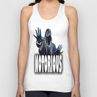 notorious Tank Tops featuring NOTORIOUS by Robleedesigns