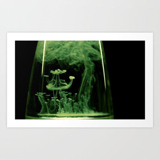 Ritual dance Art Print