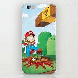 Mario Mess iPhone Skin