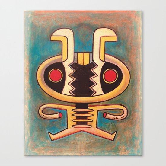 Google bot bee Canvas Print