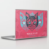 dublin Laptop & iPad Skins featuring MOLLYCAT - Dublin - Helsinki by Alan Hogan