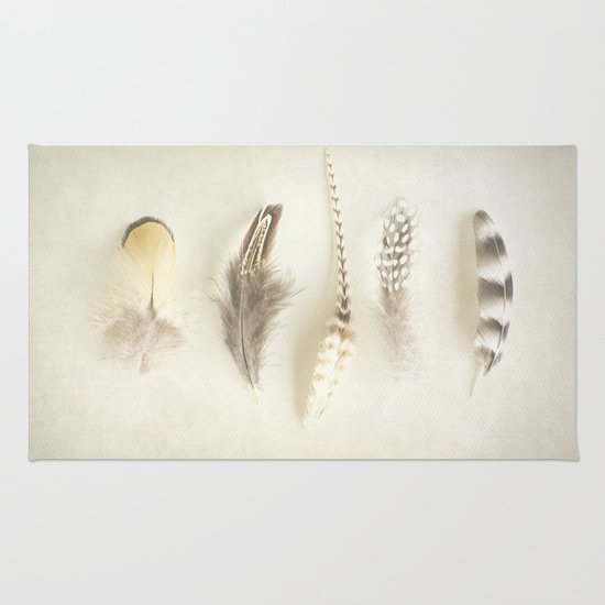 Feather Rug
