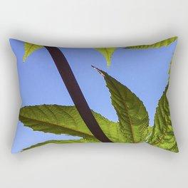 Castor Bean Rectangular Pillow