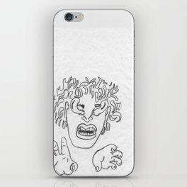 Seal-detail iPhone Skin