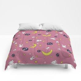 Luna Moon Rabbit Full Comforters