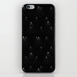 poppy seed dot pattern iPhone Skin
