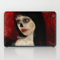 dia de los muertos iPad Cases featuring Dia de los muertos by solocosmo