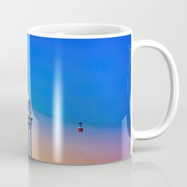 Port Cable Car in Barcelona Coffee Mug