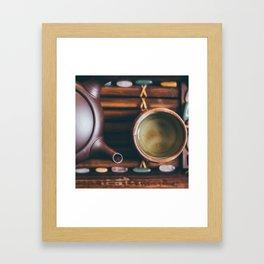 Gyokuro, with Love Framed Art Print
