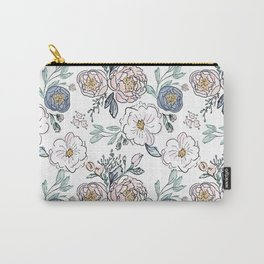 Indy Bloom Design Periwinkle Rose Carry-All Pouch