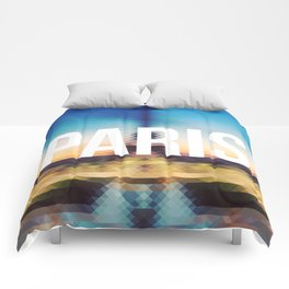 Paris - Cityscape Comforters