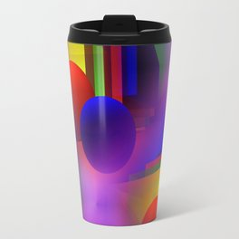 3D - abstraction -61- Travel Mug