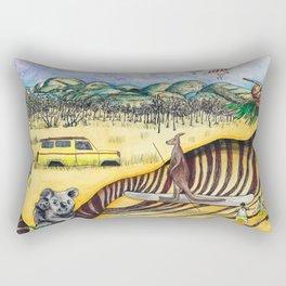 Australian image Rectangular Pillow