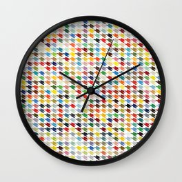 Hirstooth Pattern Wall Clock
