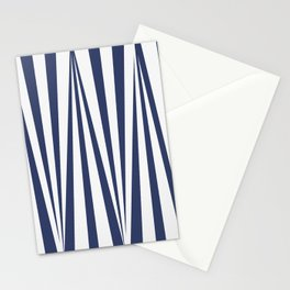 Oblique lines Stationery Cards