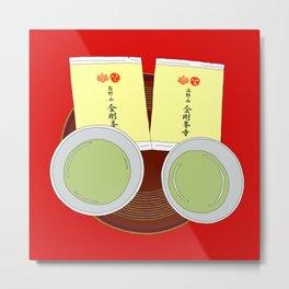 Tea Ceremony in Koyasan, Japan Metal Print