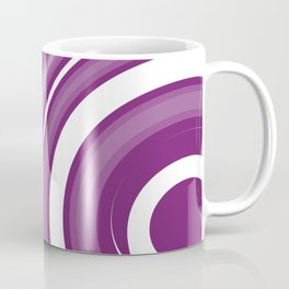 lollipop in white and purple Coffee Mug