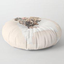 Audrielle Cream Floor Pillow